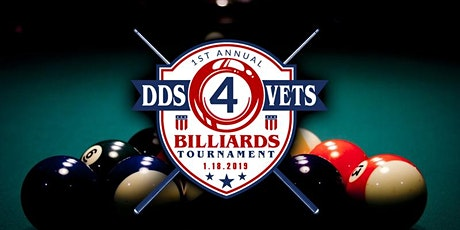 Second Annual DDS4VETS Billiards Tournament tickets