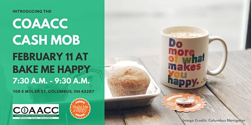 COAACC Cash Mob: Bake Me Happy