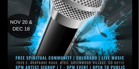 Sober Open Mic presented by Lifted From The Rut and FREE Spiritual Community tickets
