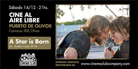 Cine al Aire Libre en Gastronomada: A STAR IS BORN (2018) - Sabado 14/12 entradas