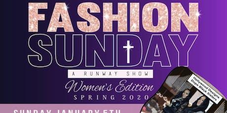 Fashion Sunday tickets