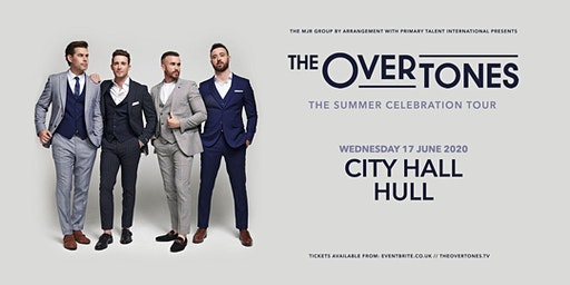 The Overtones (City Hall, Hull)