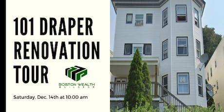 101 Draper Street - Renovation Tour! tickets