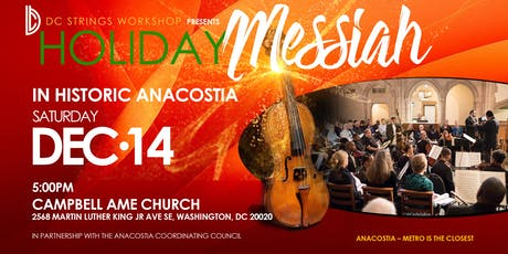 2019 Messiah in Anacostia - Campbell AME tickets