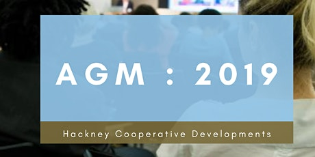 Hackney Cooperative Developments - Annual General Meeting 2019 tickets
