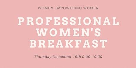 Professional Women's Breakfast tickets