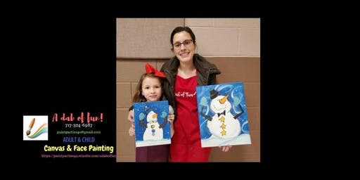 Mommy & Me Paint Event