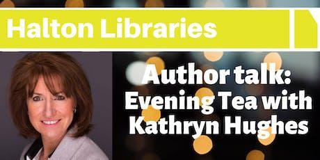 Author Talk: Evening Tea with Kathryn Hughes tickets