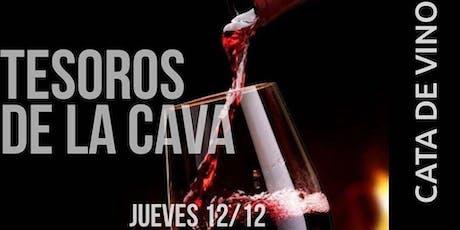 Tesoros de la Cava - Cata de vinos y maridaje entradas