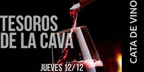 Tesoros de la Cava - Cata de vinos y maridaje tickets