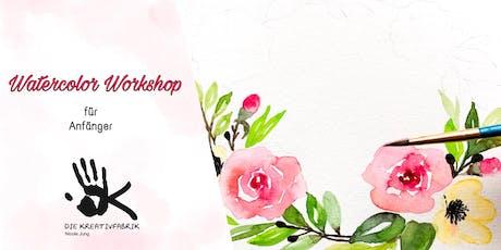 Watercolor Workshop für Anfänger Tickets