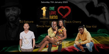 One Love Radio 1st Anniversary tickets