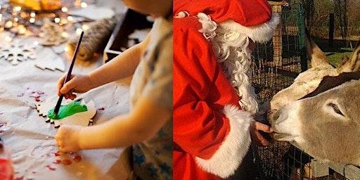 Bambini in fattoria: Merenda e Fantasia  con Babbo Natale