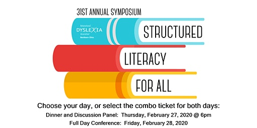NOBIDA Discussion Panel Dinner and Conference: Structured Literacy For All