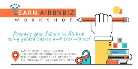 LEARN AIRBNBIZ Workshop tickets