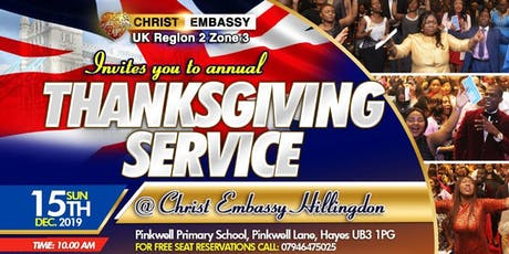 THANKSGIVING SERVICE tickets