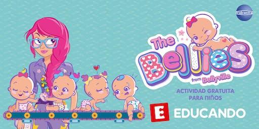 ¡A jugar con The Bellies! From BellyVille, en Jugueterías Educando