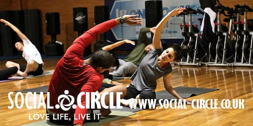 YOGA WEEKEND WITH SOCIAL CIRCLE (YOU MUST BOOK DIRECT WITH SOCIAL CIRCLE)