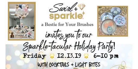Sparkle After Dark with Swirl and Sparkle, a Holiday Party to Sparkle, Sip, Shop! tickets