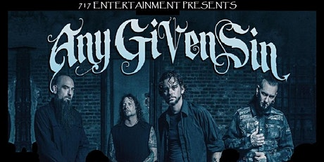 Any Given Sin & Silvertung tickets