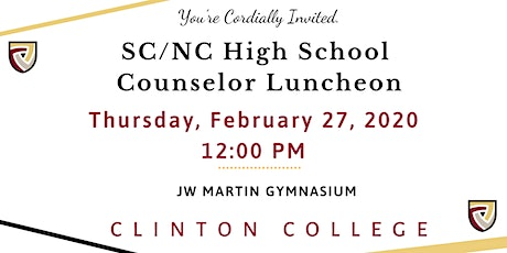 SC/NC High School Counselor Luncheon tickets