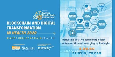 Blockchain and Digital Transformation in Health 2020 tickets