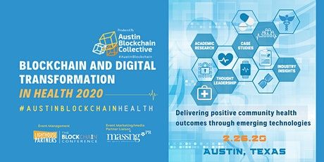 Blockchain and Digital Transformation in Health 2020 tickets