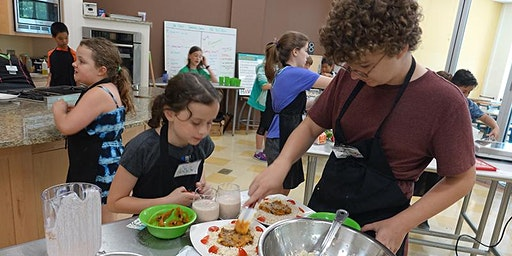 August Jr. Chef (ages 11-14) Summer Camp
