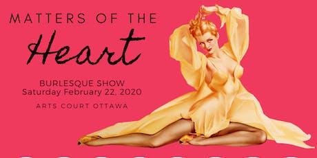 FRISQUE FEMME PRESENTS: Matters of the heart BURLESQUE SHOW tickets