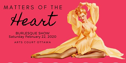 FRISQUE FEMME PRESENTS: Matters of the heart BURLE