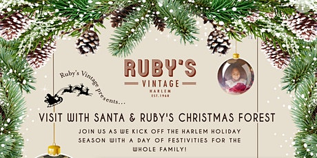 Ruby's Vintage Holiday Brunch with Santa + Ruby's Christmas Forest tickets