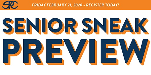 Senior Sneak Preview FREE Registration