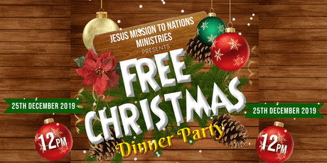 FREE CHRISTMAS DINNER tickets