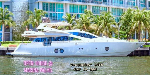Open House Marina Palms - 2015 Aicon 85 Fly Yacht