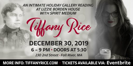 Intimate Holiday Gallery Reading At Lizzie Borden's with Tiffany Rice