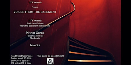 mYxoma - Radiohead Tribute: From The Basement w/ Planet Xerox + fᴏяᴄᴇs tickets