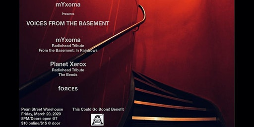 mYxoma - Radiohead Tribute: From The Basement w/ Planet Xerox + fᴏяᴄᴇs