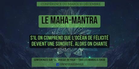 Conférences sur LA SAGESSE DU YOGA billets