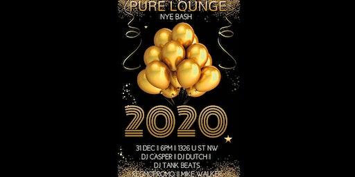 NYE 2020 @ Pure Lounge DC