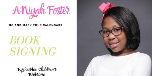 A'Niyah Foster Book Signing - The Glitches Guide