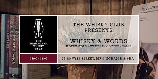 Whisky & Words Burns' Night Special : Poetry & Spoken Word Night