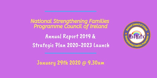 National SFP Council of Ireland Strategic Plan & Annual Report 2019 launch
