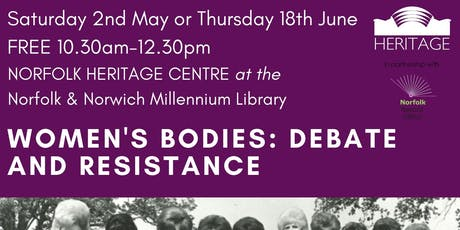 Women's Bodies: Debate and Resistance - FREE Workshop tickets