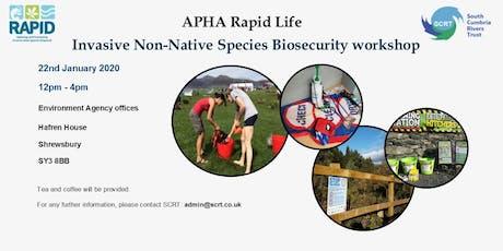 Invasive non-native species - Biosecurity Workshop  tickets