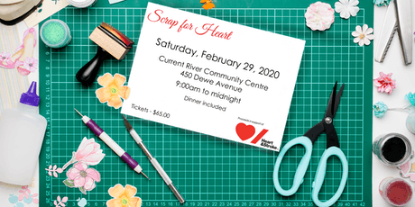Scrap for Heart 2020 tickets