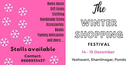The winter shopping festival