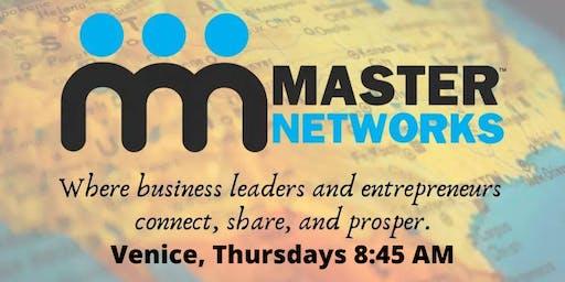 Master Networks - Venice - Thursday 8:45 AM