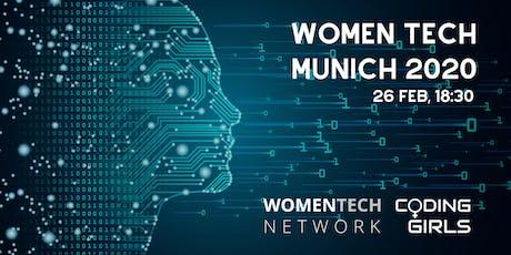 WomenTech Munich 2020 (Partner Tickets) billets