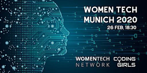 WomenTech Munich 2020 (Partner Tickets)