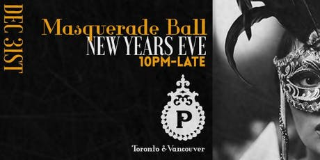 NYE 2020 Masquerade Ball   tickets